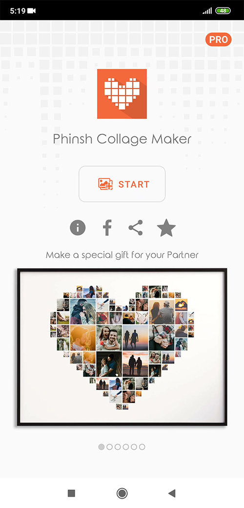 phinsh collage maker screenshot